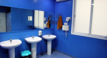 Bathroom purple 1