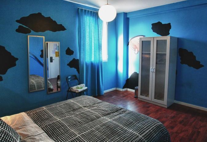 Double room Purple